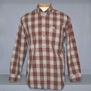 Pendleton Men's Plaid Shirt Size Medium